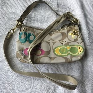 Coach Colorful Print Bag